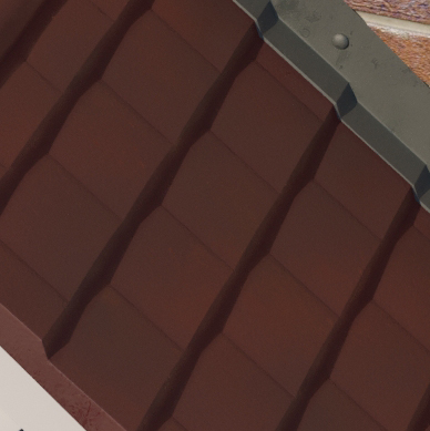 Brown Tile Coloured Roof