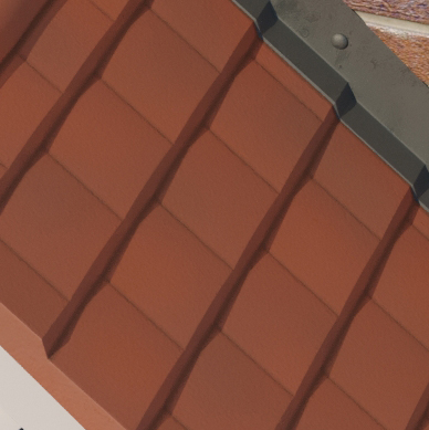 Red Tile Coloured Roof